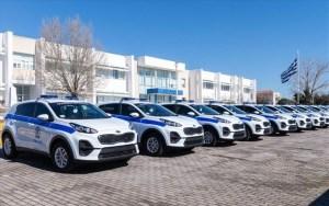 Ενισχύεται ο στόλος της Ελληνικής Αστυνομίας με 45 νέα οχήματα