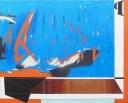Co-existence Épistémè - Oil painting + spray painting - 1.9m x 2m.