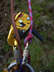 abseiling system