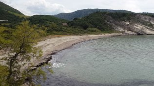 Work is done, so enjoy this beautiful Corsican beach to relax