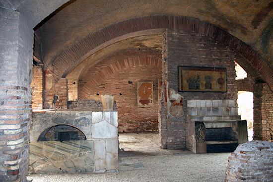 Il fast food di Ostia antica  Roma in Punta di Piedi