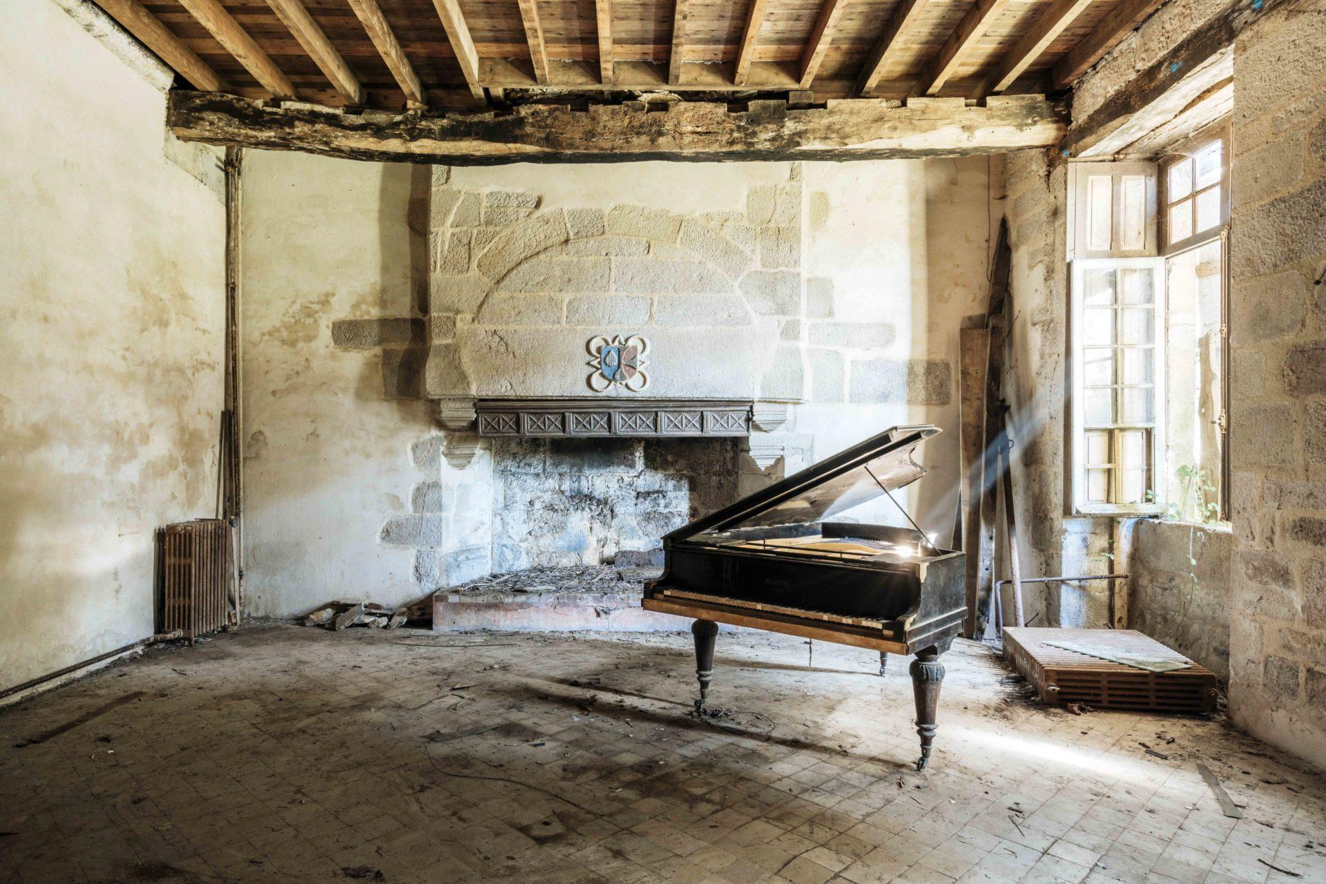 Requiem pour pianos 66 | Serie Requiem pour pianos | Romain Thiery