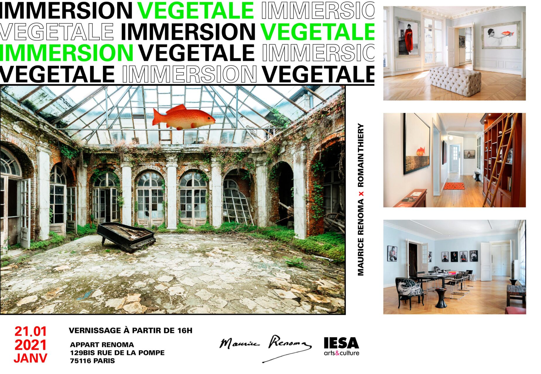 exposition renoma paris Romain Thiery et Maurice renoma