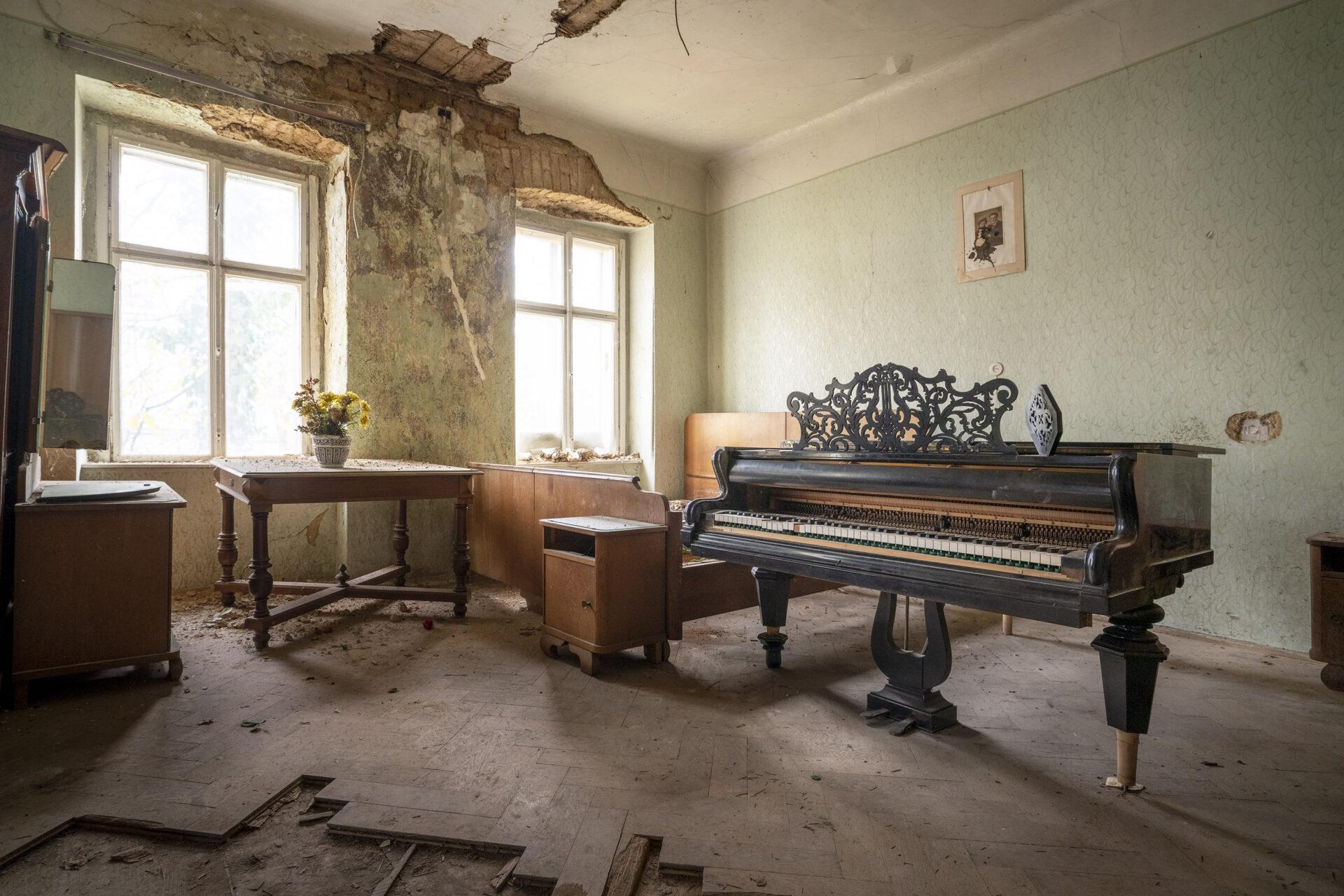 Requiem pour pianos 91 | Serie Requiem pour pianos | Romain Thiery