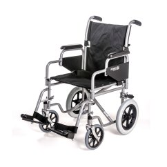 Wheelchair Nhs Faux Leather Chair And A Half 1100 Car Transit With Detachable Arms Roma