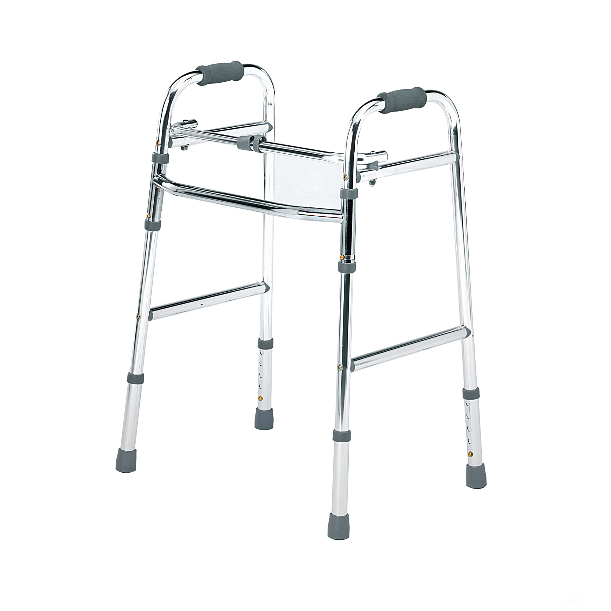 2145C : Folding Lightweight Walking Frame with Front Castors - Roma ...