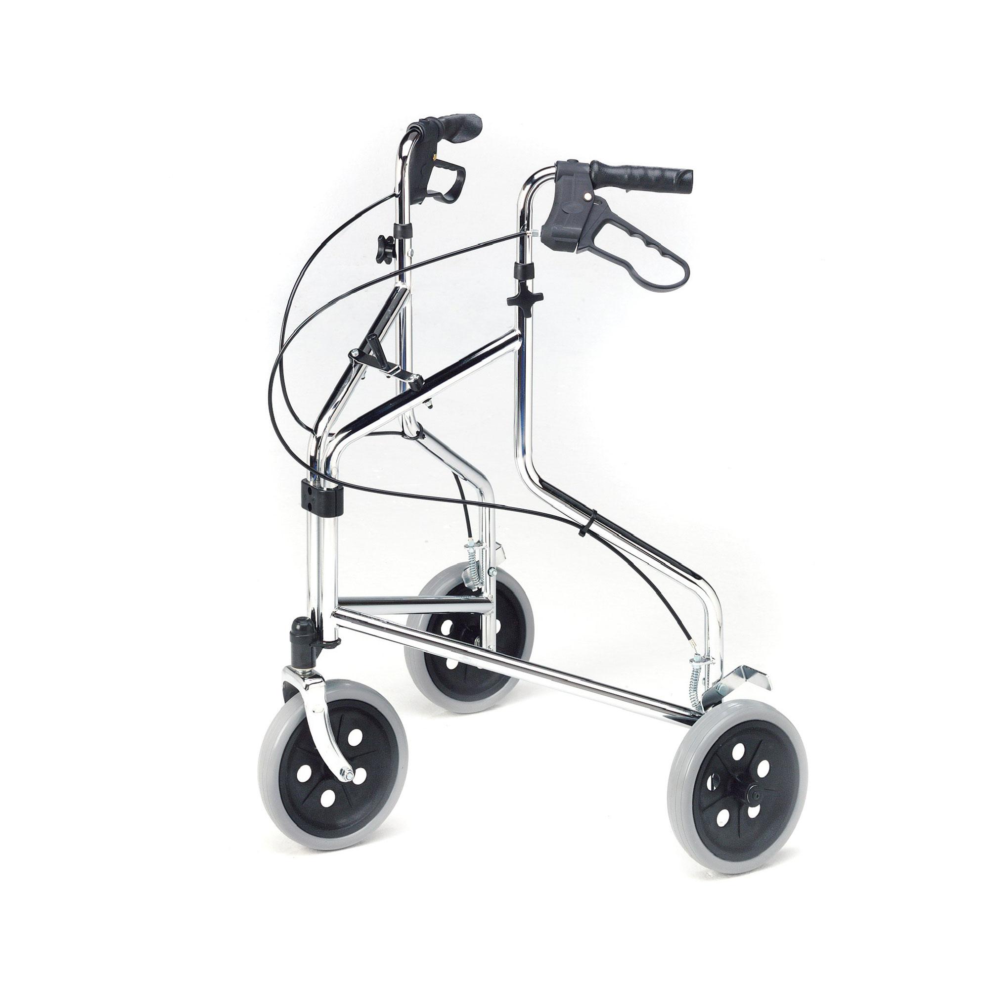 2320 : Tri-Wheel Walker with Loop Brakes - Roma Medical