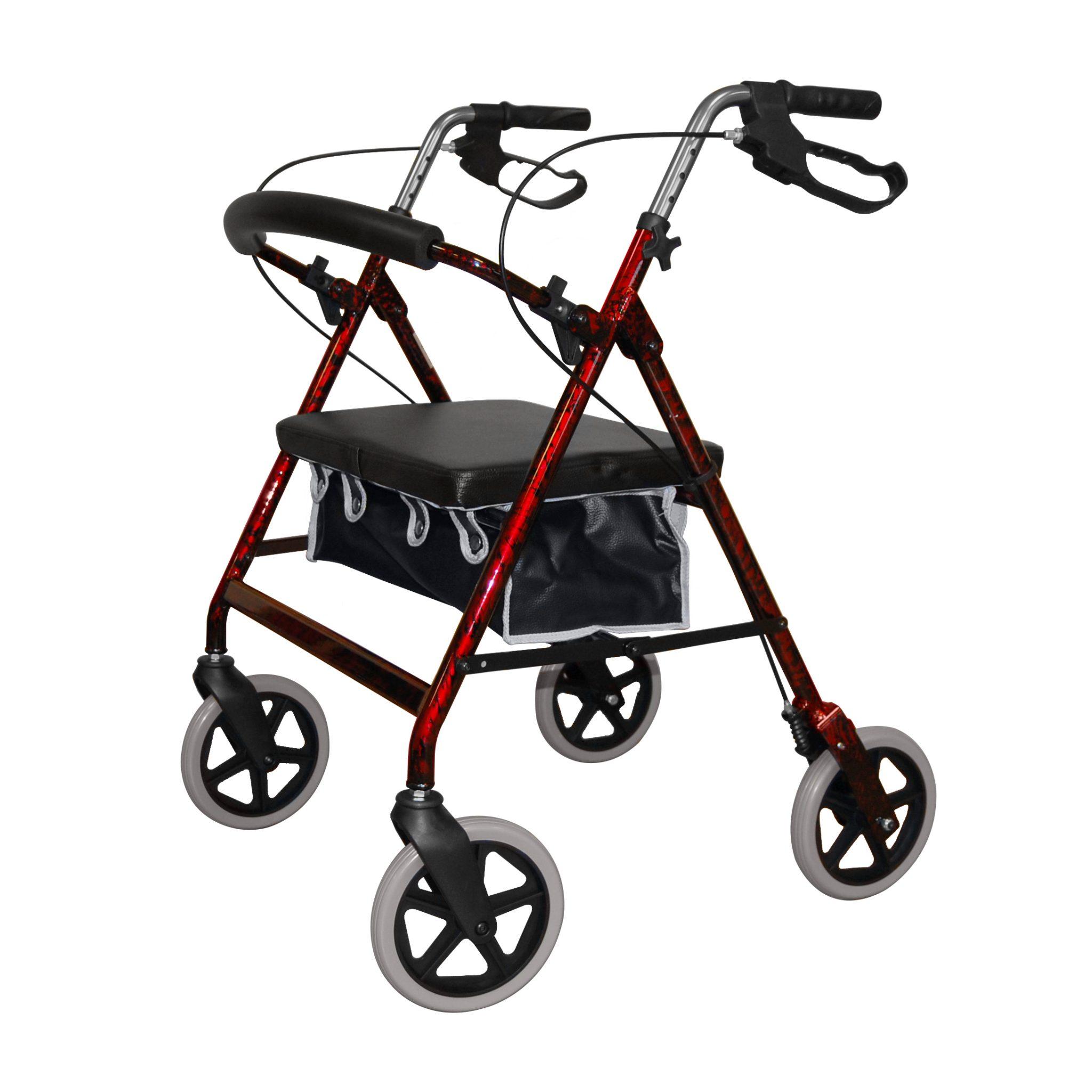 2467 Heavy Duty 4 Wheeled Walker Roma Medical