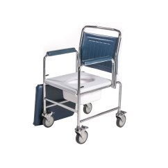 Commode Chair Uk Banquet Trolley 3190a 4bc Height Adjustable Drop Arm Mobile