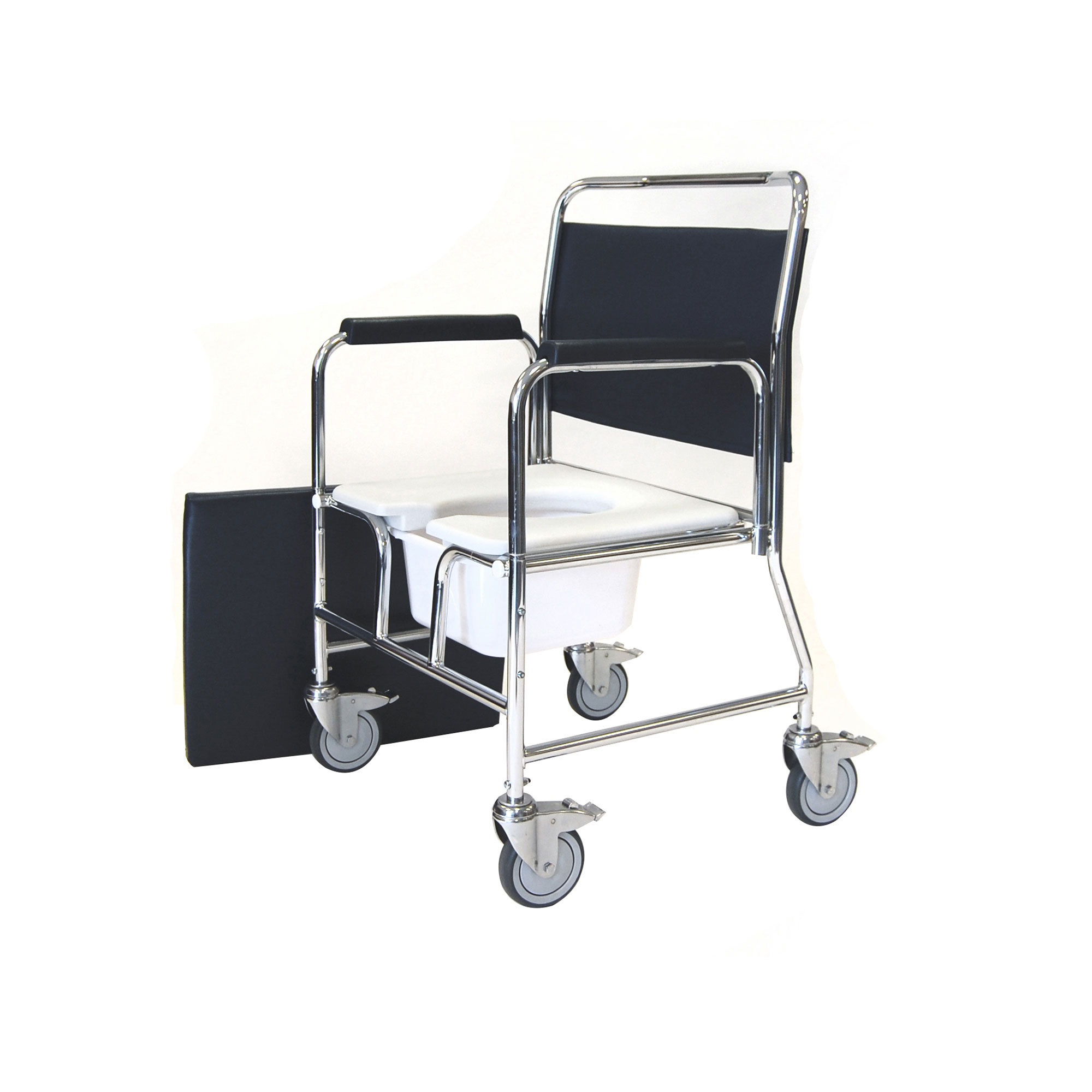 commode chair uk office piston 3275 4bc heavy duty mobile roma medical
