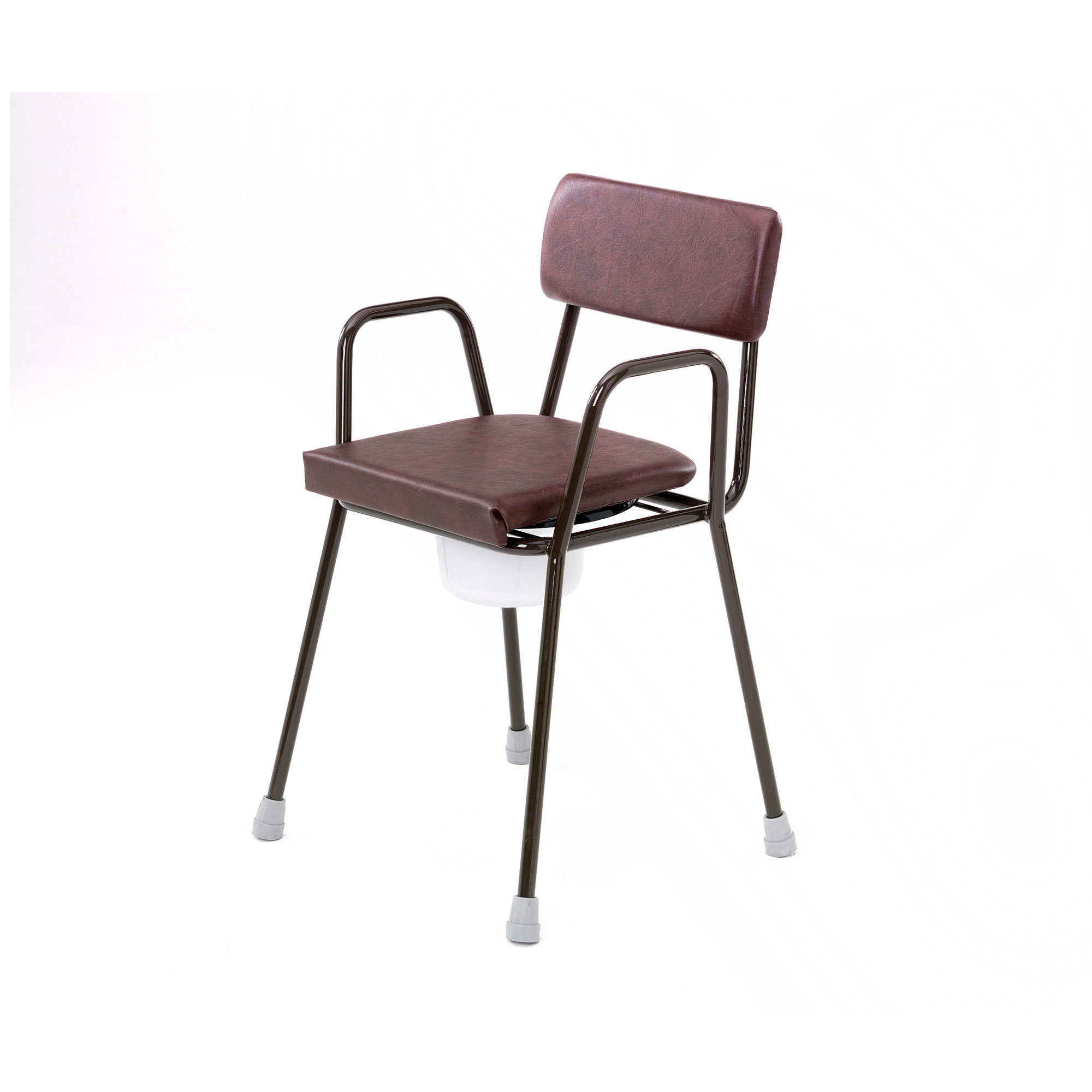 3521a Height Adjustable Stacking Commode Roma Medical