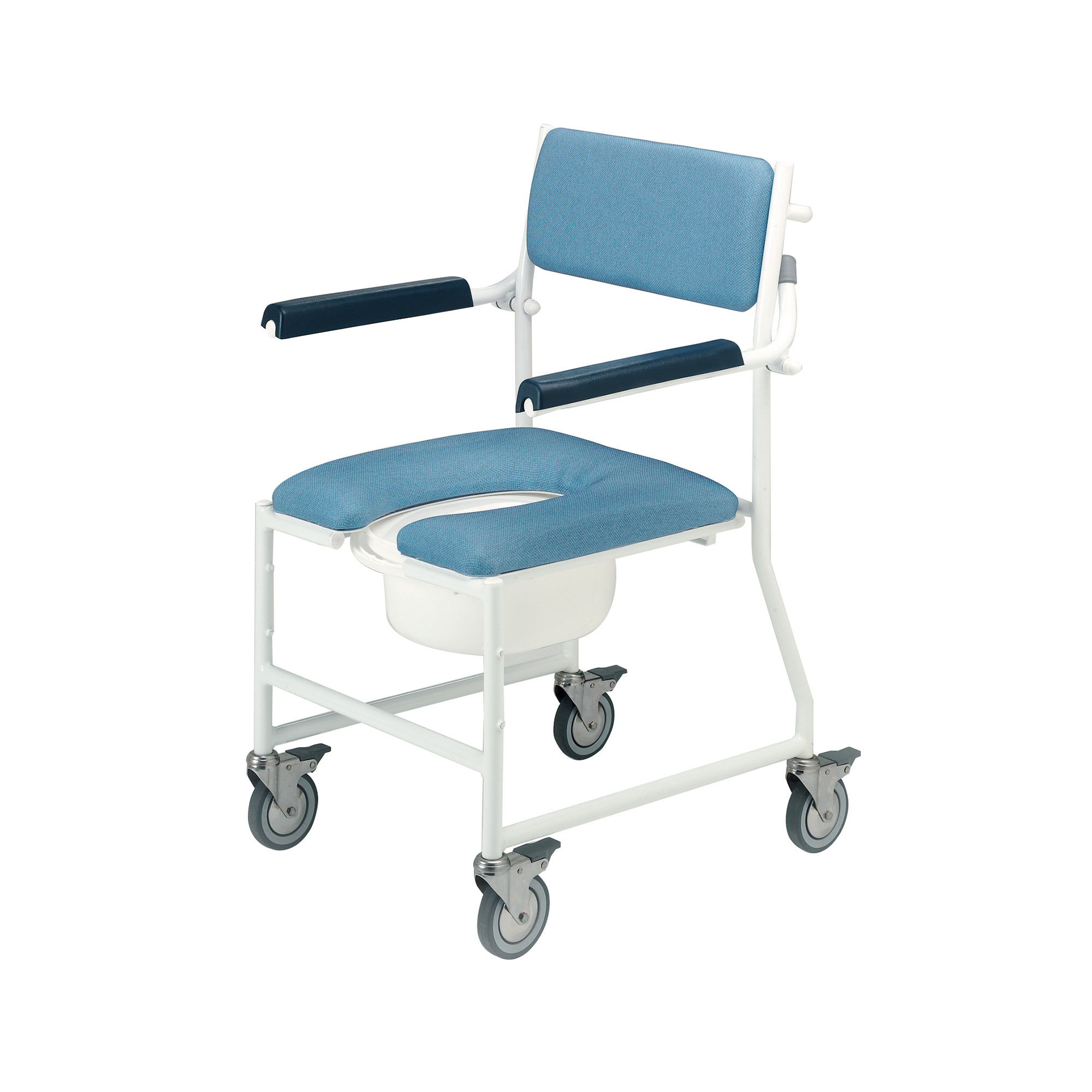 4141G/4BC : Deluxe Dual Mobile Shower Chair - Roma Medical