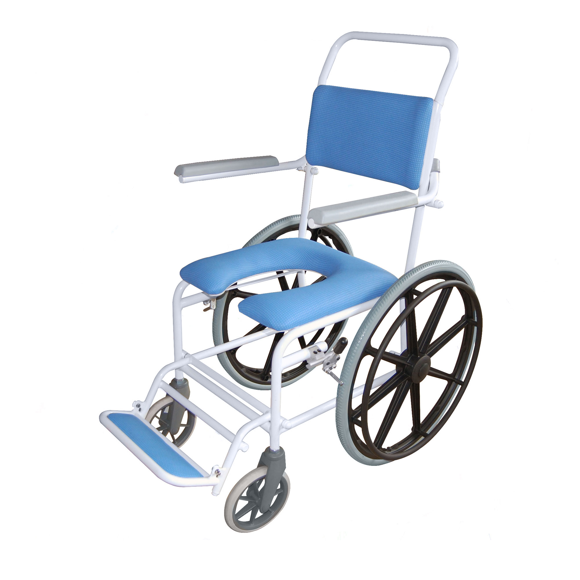 4145G : Windsor Gap Self Propelled Shower Chair - Roma Medical