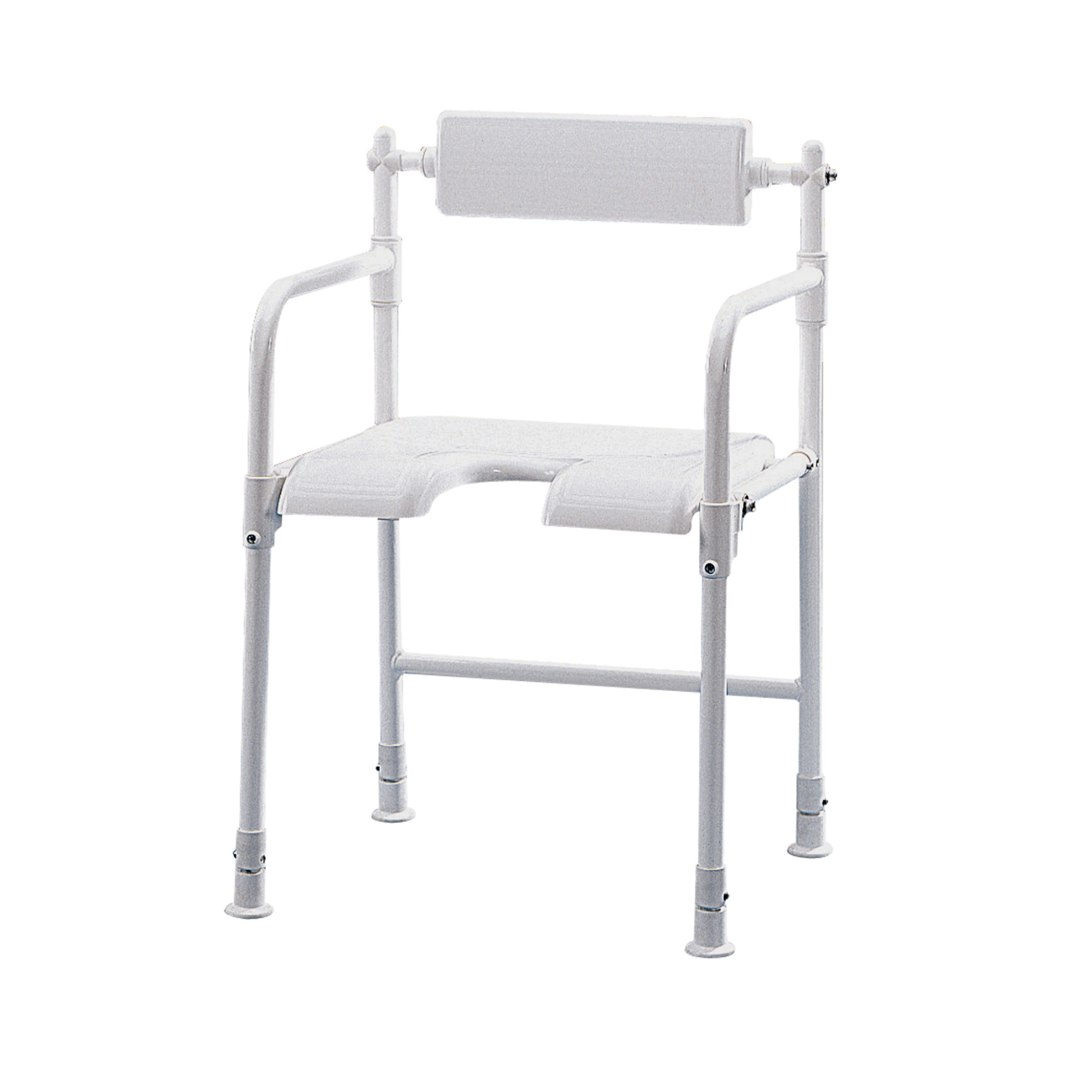 folding shower chair kids camping table and chairs 4258 fold away roma medical