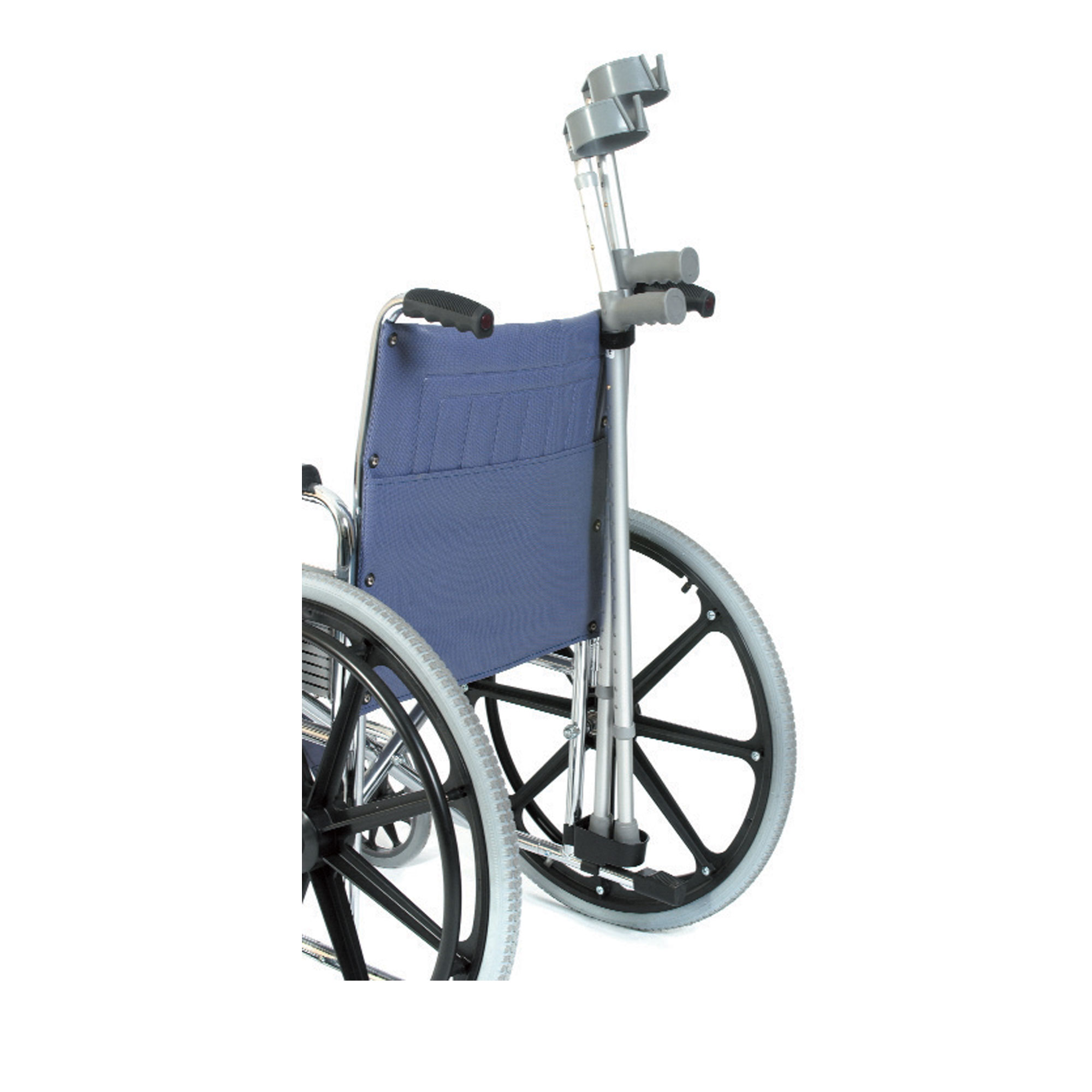Walking Chair Ac120 Crutch And Walking Stick Holder Standard Chair