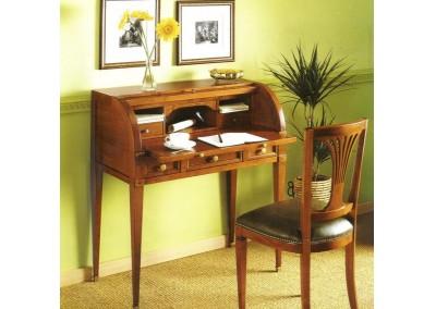 good scrittoio con ribalta sagomata in ciliegio with scrivania con ribalta