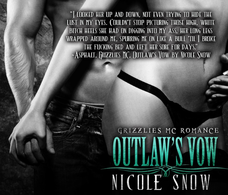 Asphalt Teaser Up and Down - Outlaw's Vow by Nicole Snow