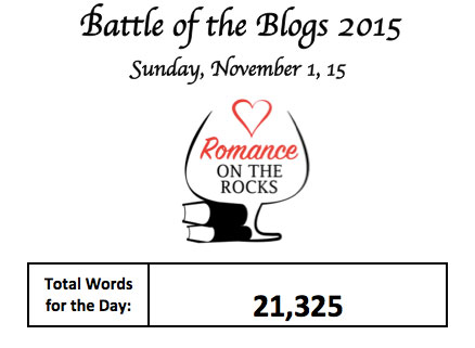 ROR Battle of the Blogs 11/01/2015