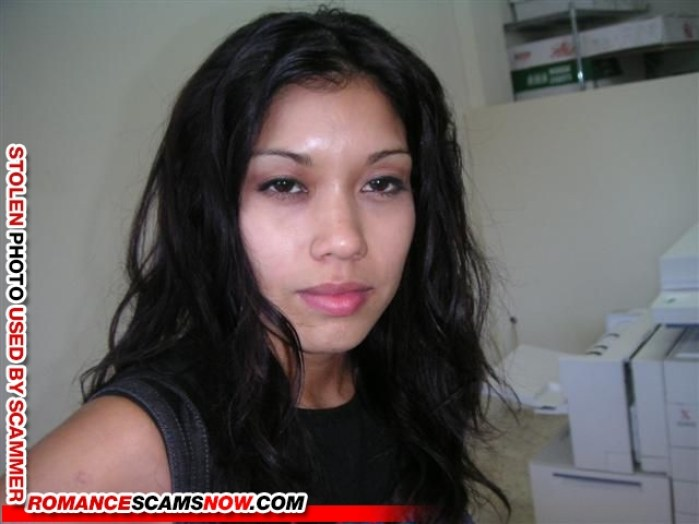 Ayisha Adam 4 - Romance Scammer / Dating Scammer - Image Stolen From Real Person