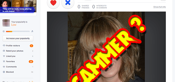 The Single Photo Scammer Test