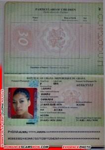 Muniru Lawura - Ghana Passport H0863502