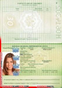 Alima Ibrahim Ayuba - Ghana Passport H0614302