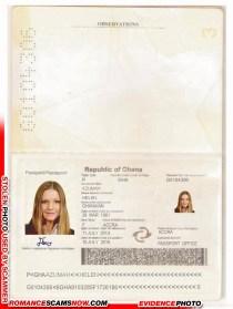 Helen Azumah - Ghana Passport G0104306