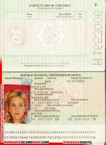 Da Rocha Sandra - Ghana Passport H1653006
