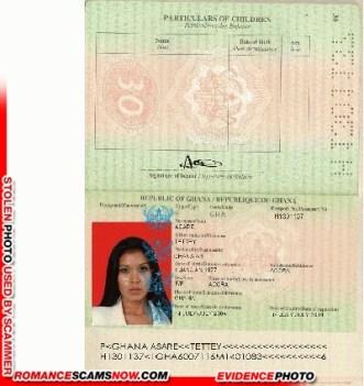 Tettey Asare - Ghana Passport H1301137