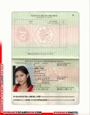 Fake Ghana Passport
