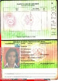 Gifty Amzadu - Ghana Passport H1141307