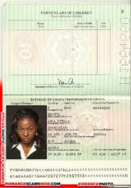 Ama Stella Bentil - Ghana Passport H1664660