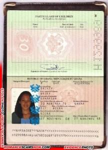 Wasky Sackey - Ghana Passport H1299986