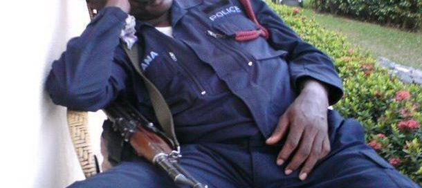 Ghana Police Asleep On Scammers!