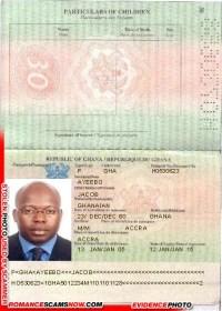 JACOB YEEBO - Ghana Passport H0530623 [H0730658]