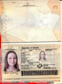 Evenly Howe - Ghana Passport G0070267