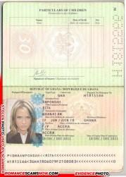 Rita Amponsah - Ghana Passport H1815566