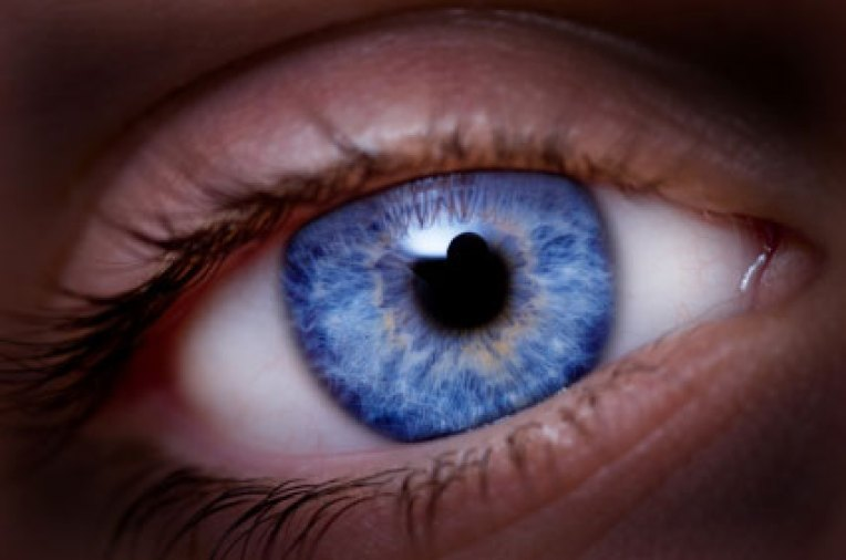 Blue Eye Color often mistaken by scammers as Hazel