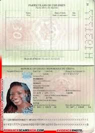 Fake Ghana Passport H1931777