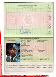 Fake Ghana Passport H0306047