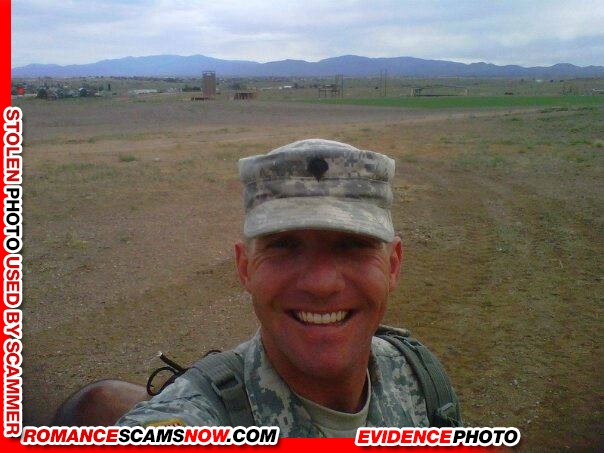 Military dating sites scams