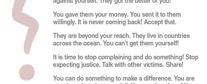 scam victim motivation