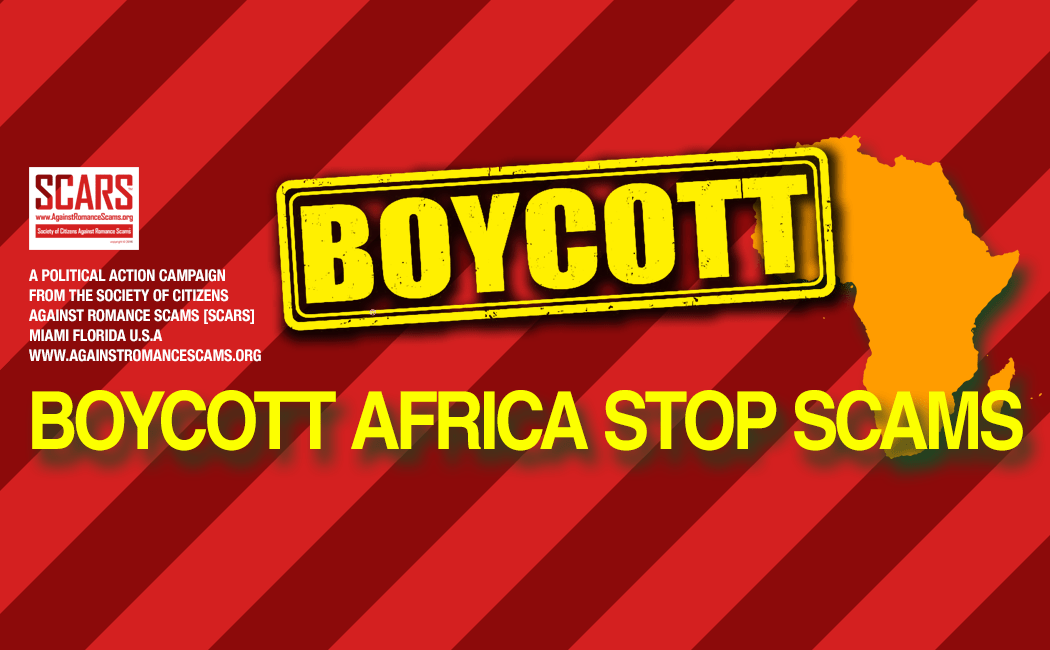 rsn commentary boycott african products now romance scams now