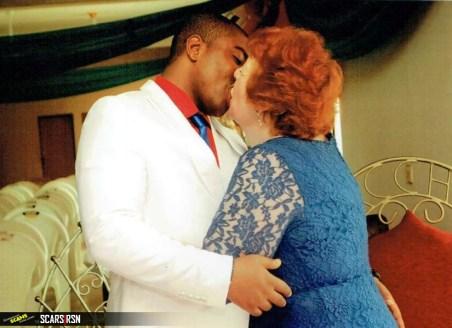 Angela Nwachukwu and CJ (Buzz Nigeria )