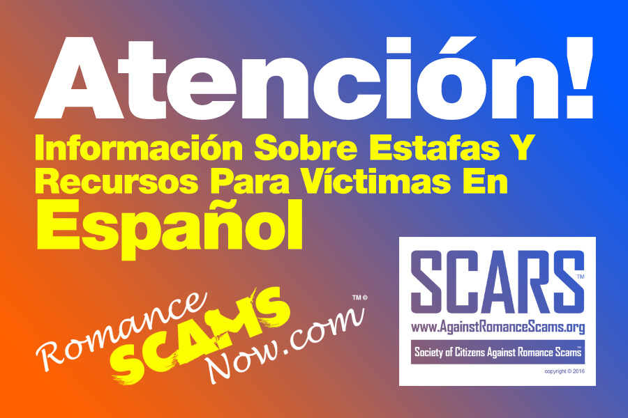 Online dating scams blackmail in spanish