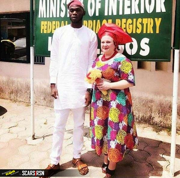 For papers and visa some Nigerian men marry old white women (Yaba Left Online )