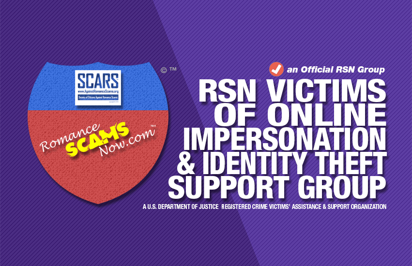RSN™ Victims Of Online Impersonation & Identity Theft Support Group