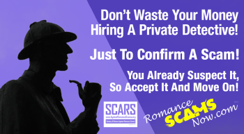 RSN™ Editorial: Don't Waste Your Money On Private Detectives