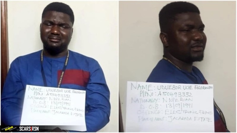 27-year-old suspect, Uduebor Uche Folorunsho, is to arraigned in court on September 24