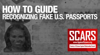 RSN™ How To: Spot Fake U.S. Passports